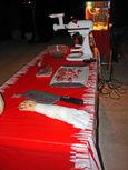 Butcher table side